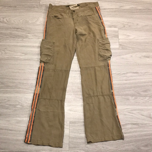 5c4fc175b55 Da-Nang Pants - GUC Da-nang silk camo stripe cargo pants